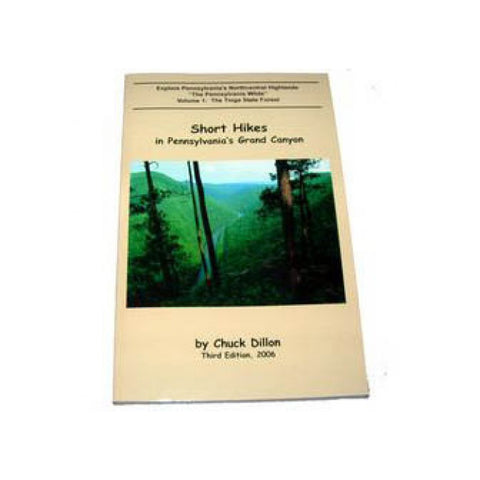 Pine Creek Press Short Hikes Pennsylvania Grand Canyon Book