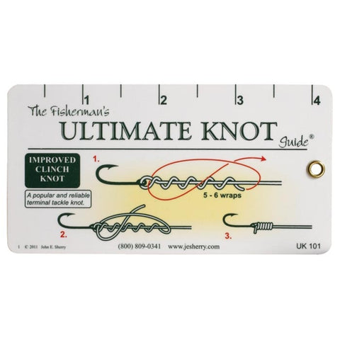 Ultimate Knot Fisherman's Knot Guide