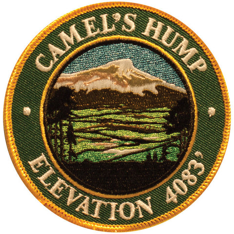 Mountain Patches Camels Hump Embroidered Hiking Patch