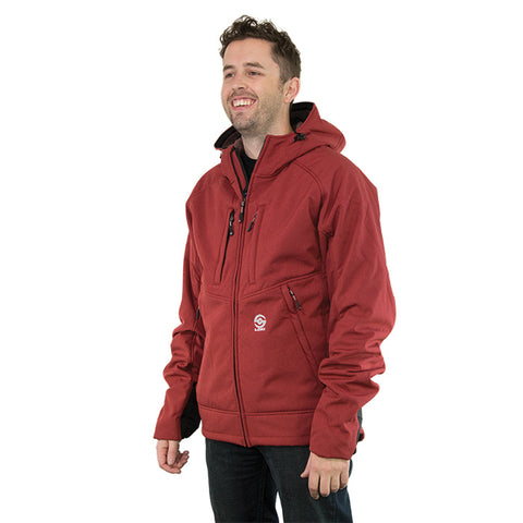 Loki Mountain Hood Extreme Men Fl.Red Md