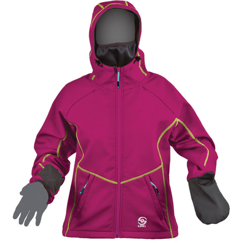Loki Mountain Jacket Women's Pink Md