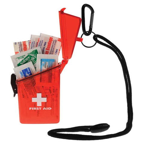 Witz First Aid Kit Red Translucent