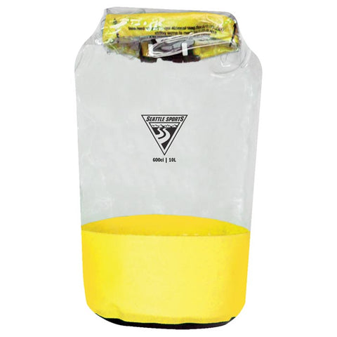 Seattle Sports Glacier Clear Dry Bag Yellow 10 L