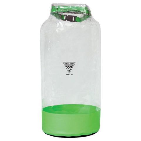 Seattle Sports Glacier Clear Dry Bag Green 41 L