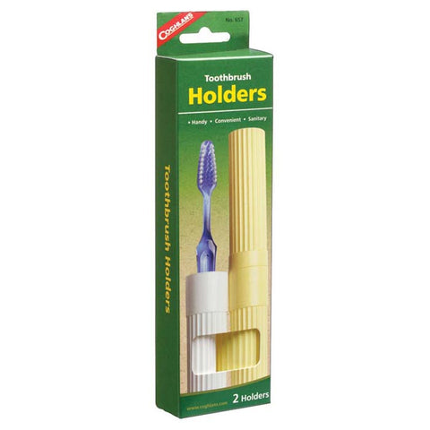 Coghlan's Toothbrush Holders 2 Pack