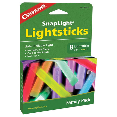 Coghlan's Family Pack Lightsticks 8 Pack