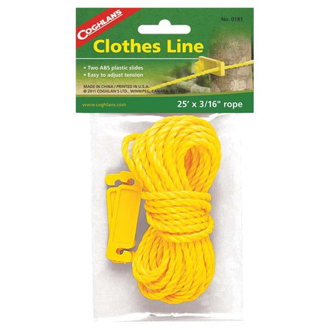 Coghlan's Clothesline 25ft X 3/16in