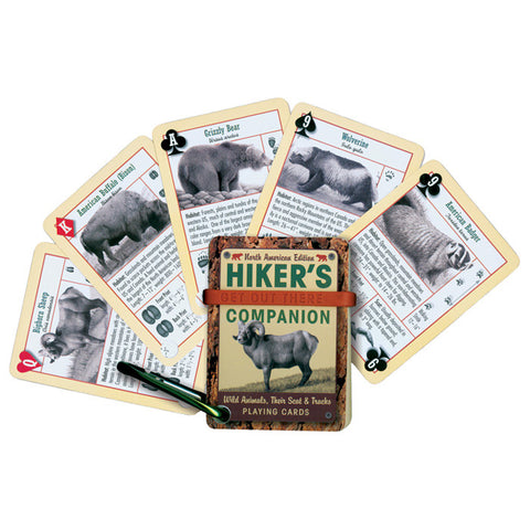Inkstone Design Hikers Companion Playing Cards