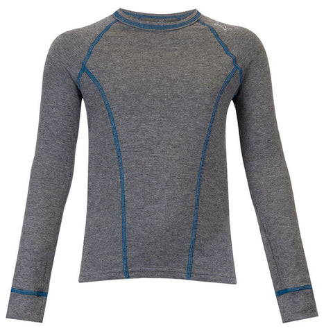 Watson's Double Layer Base Layer Boy's Long Sleeve Grey X-Small