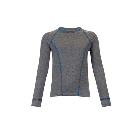Watson's Double Layer Base Layer Boy's Long Sleeve Grey Large