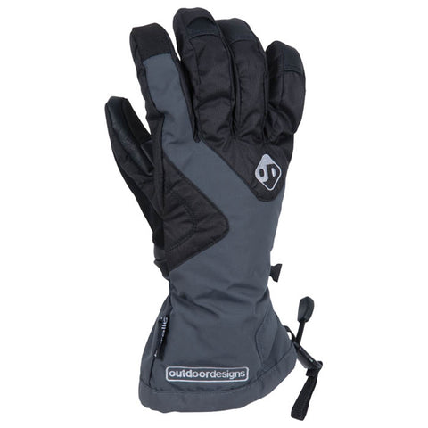 Outdoor Designs Summit Gloves Slate Large