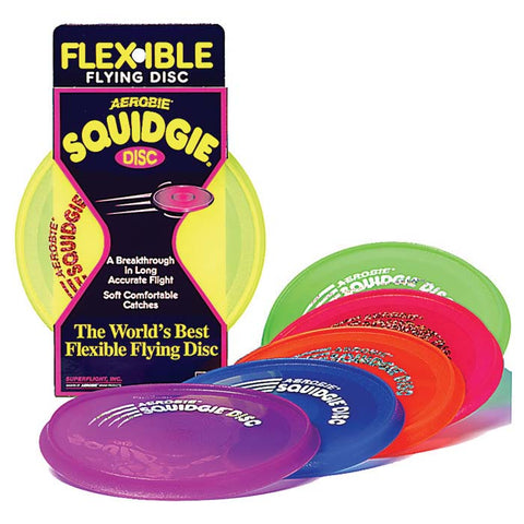 Aerobie Squidgie Flexible Flying Disc