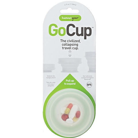 Humangear Gocup Small 4 oz Clear