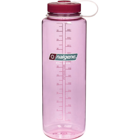 Nalgene Silo Tritan Wide Mouth Water Bottle 48 oz Cosmo