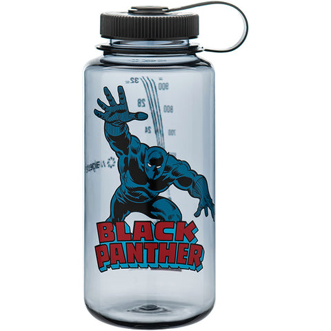 Nalgene Wm 1 Qt Gray Black Panther