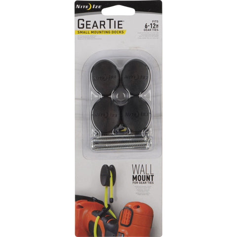Nite-ize Gear Tie Small Docking Mount 4 Pack