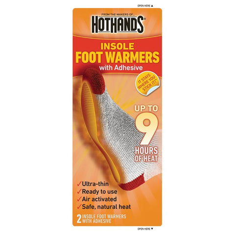 Hot Hands Toasti-Toes Insole Warmer 1Pk