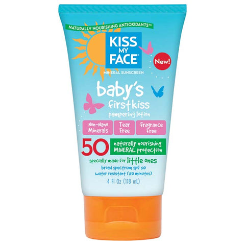 Kiss My Face Baby's First Kiss Spf50 Lotion