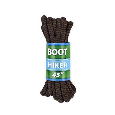 "Shoe Gear Alpine Boot Laces 45"" Brn/Blk"