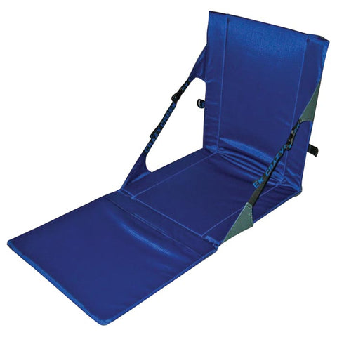 Crazy Creek Powerlounger Grey/Royal Folding Seat