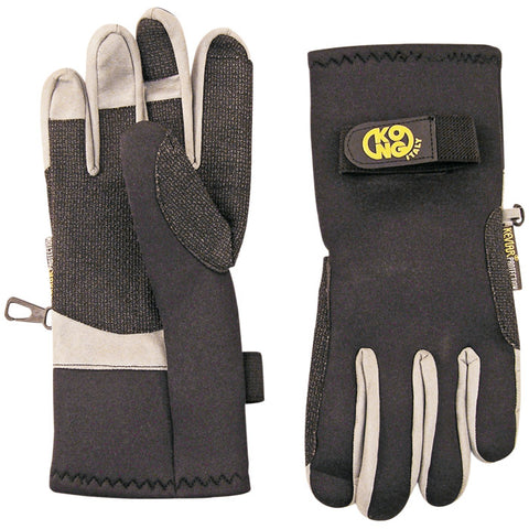 Kong Canyon Large Neoprene Gloves Made with Kevlar