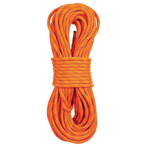 "New England Ropes KM III 7/16"" X 150' Orange Static Climbing Rope"