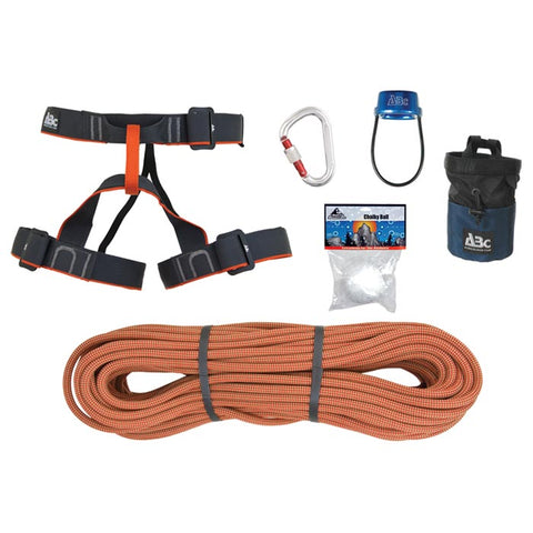 ABC Complete Rock Climbers Harness Package