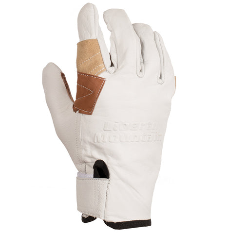 Liberty Mountain Pro Rappel Gloves Goat Skin Lg
