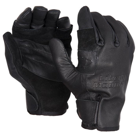 Liberty Mountain Pro Rappel Gloves Goat- Medium Black
