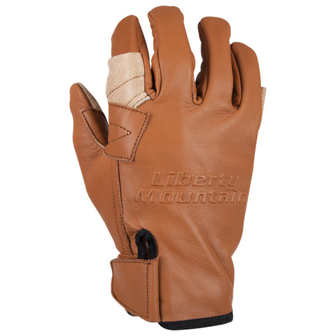 Liberty Mountain Pro Rappel Gloves Cowhide Md