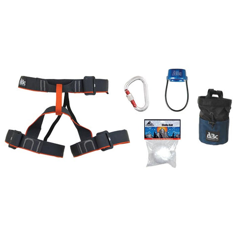 ABC Guide Rock Climbing Beginers Harness Pack