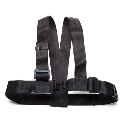 ABC Guide Rock Climbing Chest Harness Black