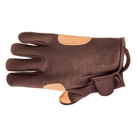 Singing Rock Grippy Leather Gloves S-8