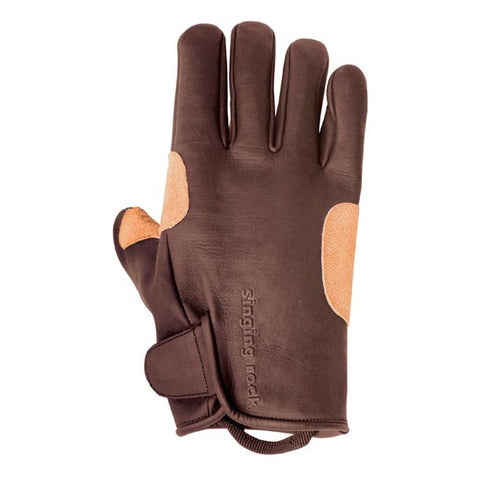 Singing Rock Grippy Leather Gloves L-10