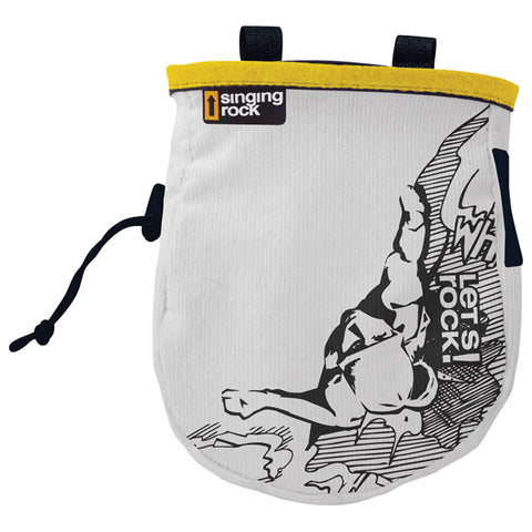 Singing Rock Comic Chalk Bag Assorted Colors