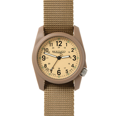 Bertucci Dx3 Khaki Dial/Coyote Band Watch