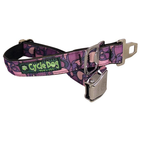 Cycle Dog Bottle Open Dog Collar Purple Large