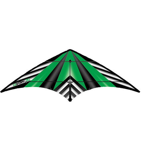 WindNsun Ez Sport 70 Green Stripe Dual Control Kite