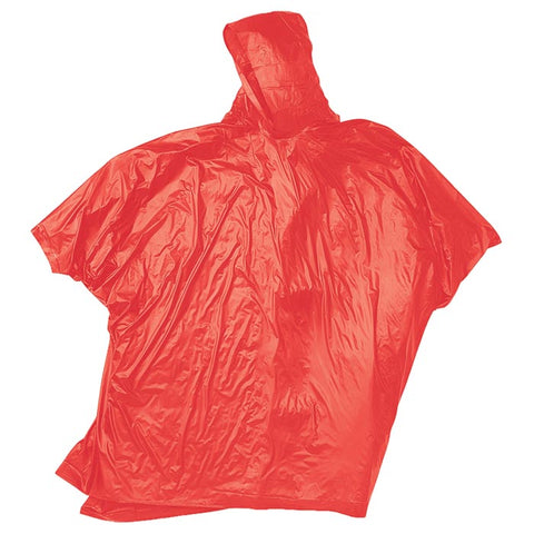 Red Ledge Adult Vinyl Poncho Assorted