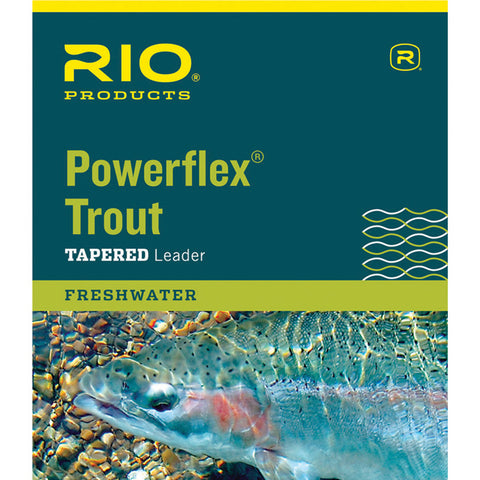 Rio Brands Power Flex Knotless 7.5Ft 7X Ldr