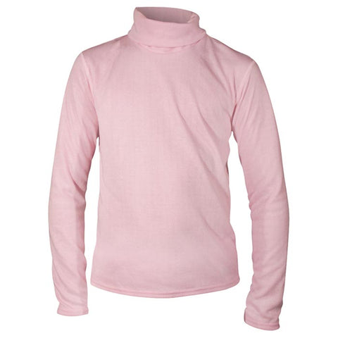 Hot Chillys Pepper Bi-Ply Base Layer T Neck Kid's Pink X Small