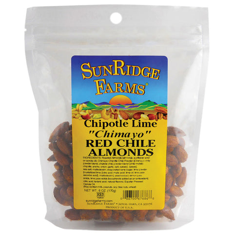 Sunridge Farms Almonds Chipolte/Lime/Red Chil