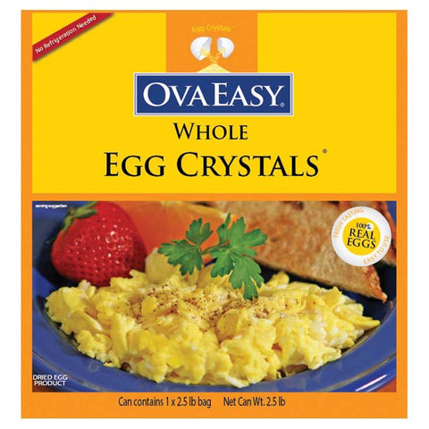 Ovaeasy Whole Egg Crystals #10 Can (106 Egg Equivalent)