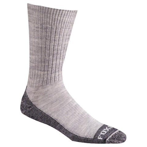 Fox River Bilbao Grey Medium 6-8.5 Socks