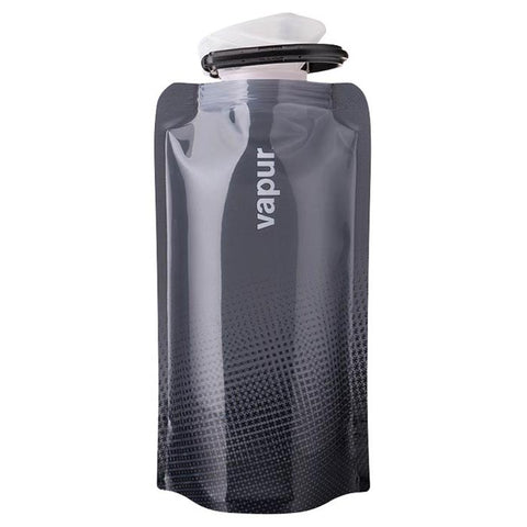 Vapur Shades 0.5L Cool Grey Foldable Water Bottle Flask