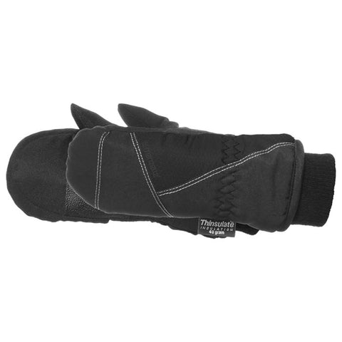 Manzella Juniors Waterproof Mtt Black Lg