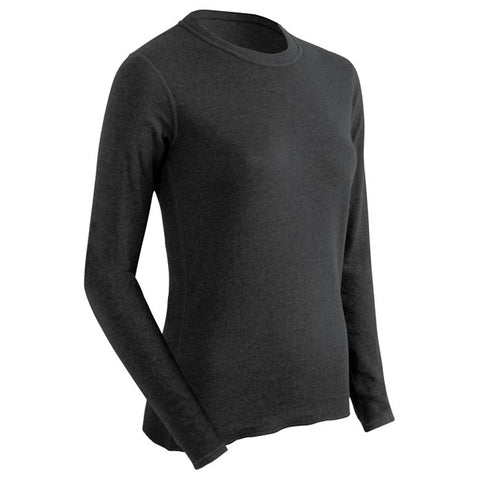 Coldpruf Base Layer Poly Women's Top Black Large