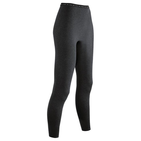 Coldpruf Base Layer Poly Women's Pants Black Small