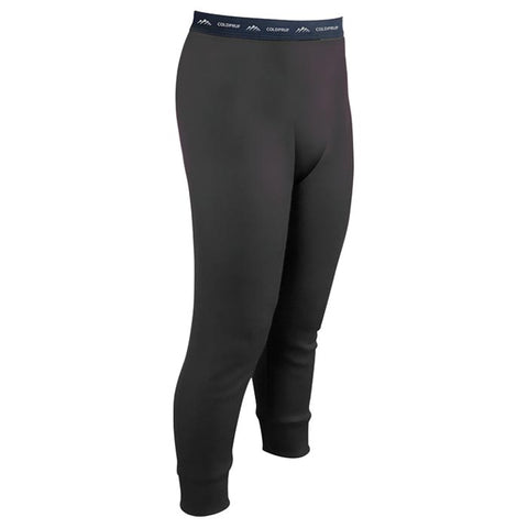 Coldpruf Base Layer Poly Kids Pants Black X-Small