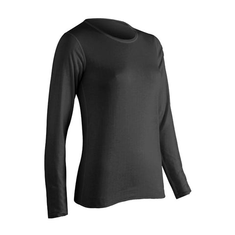 Coldpruf Base Layer Performance Women's Top Black Medium